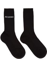 Jacquemus Black La Montagne Les Chaussettes Socks