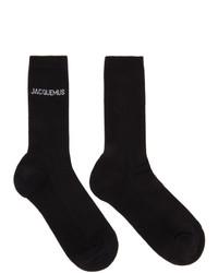Jacquemus Black Les Chaussettes Socks