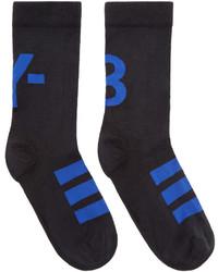 Y-3 Black Logo Ankle Socks