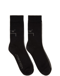 A-Cold-Wall* Black Logo Socks