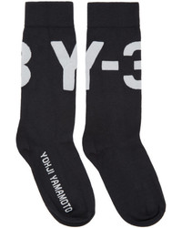 Y-3 Black Logo Socks