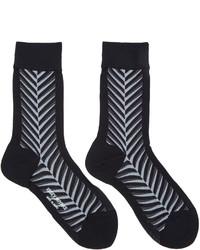 Issey Miyake Black Neptune Socks