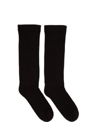 Rick Owens DRKSHDW Black Subhuman Socks