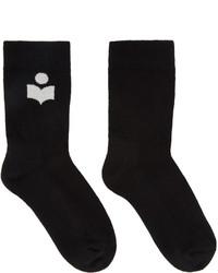 Isabel Marant Black Visby Socks