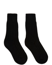 The Elder Statesman Black Yosemite Socks
