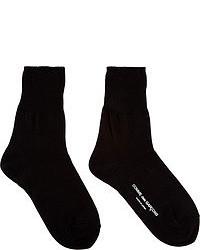 Comme des Garcons Comme Des Garons Black Ankle Socks