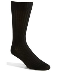 Pantherella Cotton Blend Mid Calf Dress Socks