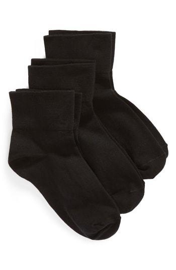 Nordstrom Everyday 3 Pack Ankle Socks