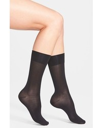 Hue ultrasmooth socks black 911 medium 284220