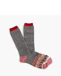 J.Crew Chuptm Diamond Socks