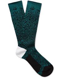 Haider Ackermann Jacquard Knit Socks