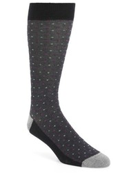 London bird eye organic cotton blend socks medium 806420