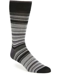 Bugatchi Mercerized Cotton Blend Socks