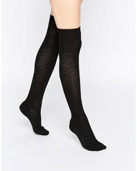 ABS by Allen Schwartz Over The Knee Cable Socks