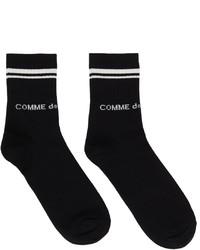 Comme Des Garcons Homme Plus Rib Knit Short Socks