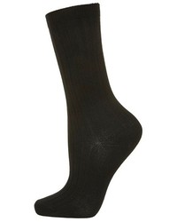 Topshop Ribbed Crew Socks