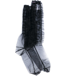MSGM Sheer Ruffle Socks