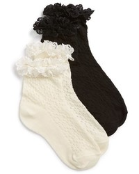 Ruby & Bloom Short Sweet 3 Pack Ankle Socks