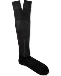 Tom Ford Silk And Cotton Blend Dress Socks
