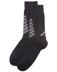 Emporio Armani Stretch Cotton Crew Socks
