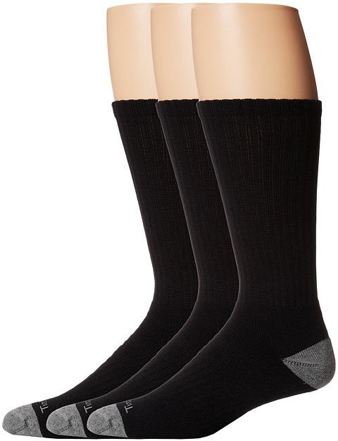 1c1180e0b Timberland Tm30405 Crew 3 Pair Pack Crew Cut Socks Shoes, $14 | Zappos |  Lookastic.com