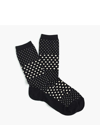 J.Crew Trouser Socks In Multi Dot