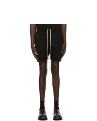 Les Tien Black Yacht Shorts