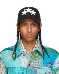 Amiri Black 3 Star Trucker Cap