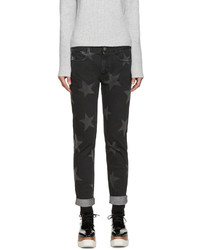 Stella McCartney Black Star Skinny Boyfriend Jeans