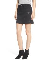 Current/Elliott Five Pocket Denim Miniskirt