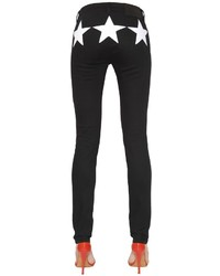 Givenchy Cotton Denim Jeans W Star Inserts