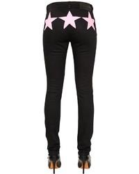 Givenchy Slim Fit Denim Jeans W Stars Inserts