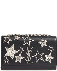 Saint Laurent Large Star Kate Monogram Leather Shoulder Bag
