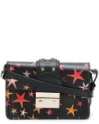 RED Valentino Star Printed Cross Body Bag