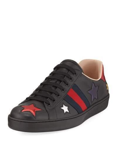 New Ace Star Low Top Sneaker Black