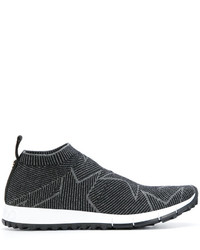 Jimmy Choo Slip On Star Sneakers