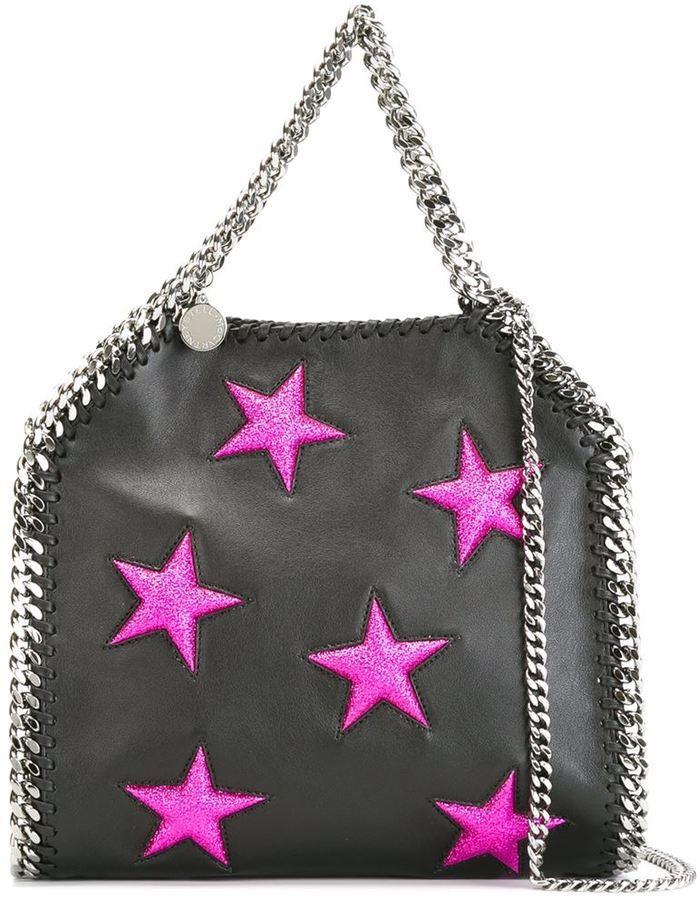 85913b4b0155 ... Stella McCartney Mini Falabella Star Tote