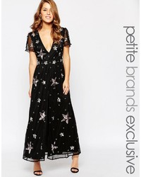 Maya Petite Star Embellished Maxi Dress