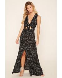 Wyldr star print maxi dress medium 541743