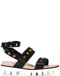 RED Valentino Star Charm Sandals