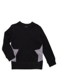 Little Boys Crewneck Star Sweater