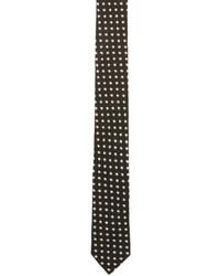 Saint Laurent Black Star Tie