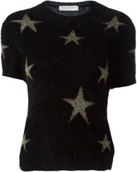 Valentino Cropped Star Jumper