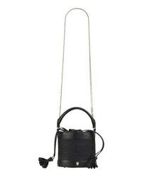 Helen Kaminski Mini Raffia Bucket Bag