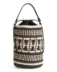Nordstrom Talula Woven Raffia Bucket Bag