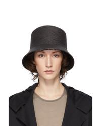 Ys Black Panama Hat