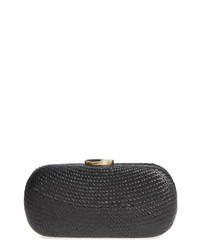 Nordstrom Woven Straw Minaudiere