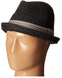 Black Straw Hat