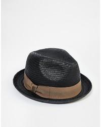 70e2b0bbd8d Men s Black Straw Hats from Asos