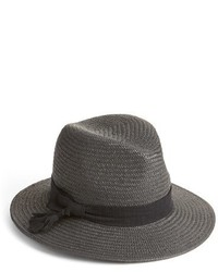 Halogen High Crown Straw Panama Hat